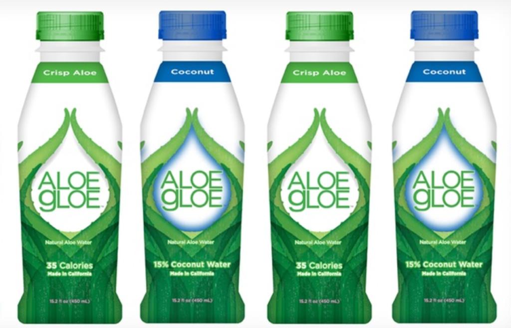 Aloe Gloe beverage