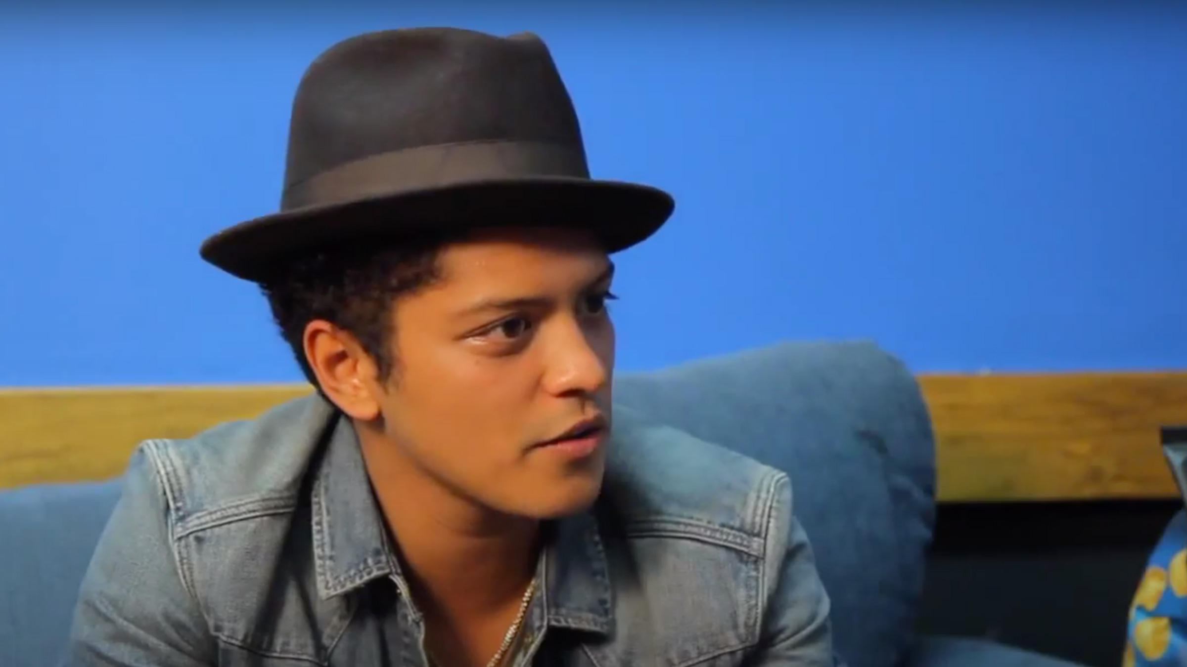 Interview w/ Bruno Mars