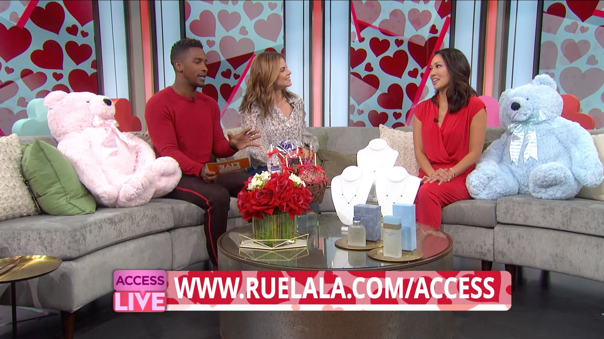 Access Hollywood Valentine's Day